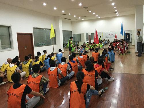 中国联通达州分公司团队拓展训练1